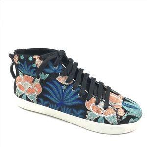 (NWOT) Rebecca Minkoff Zaina Embroidered Sneaker